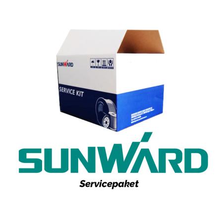 Servicepaket | 500 timmar | Sunward SWE155F