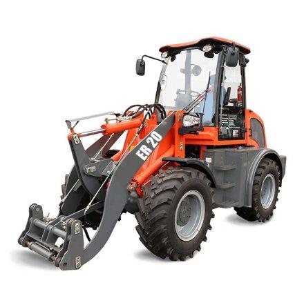Everun Hjullastare ER20 | 4x4 | 75hk | Lyfter 2000kg